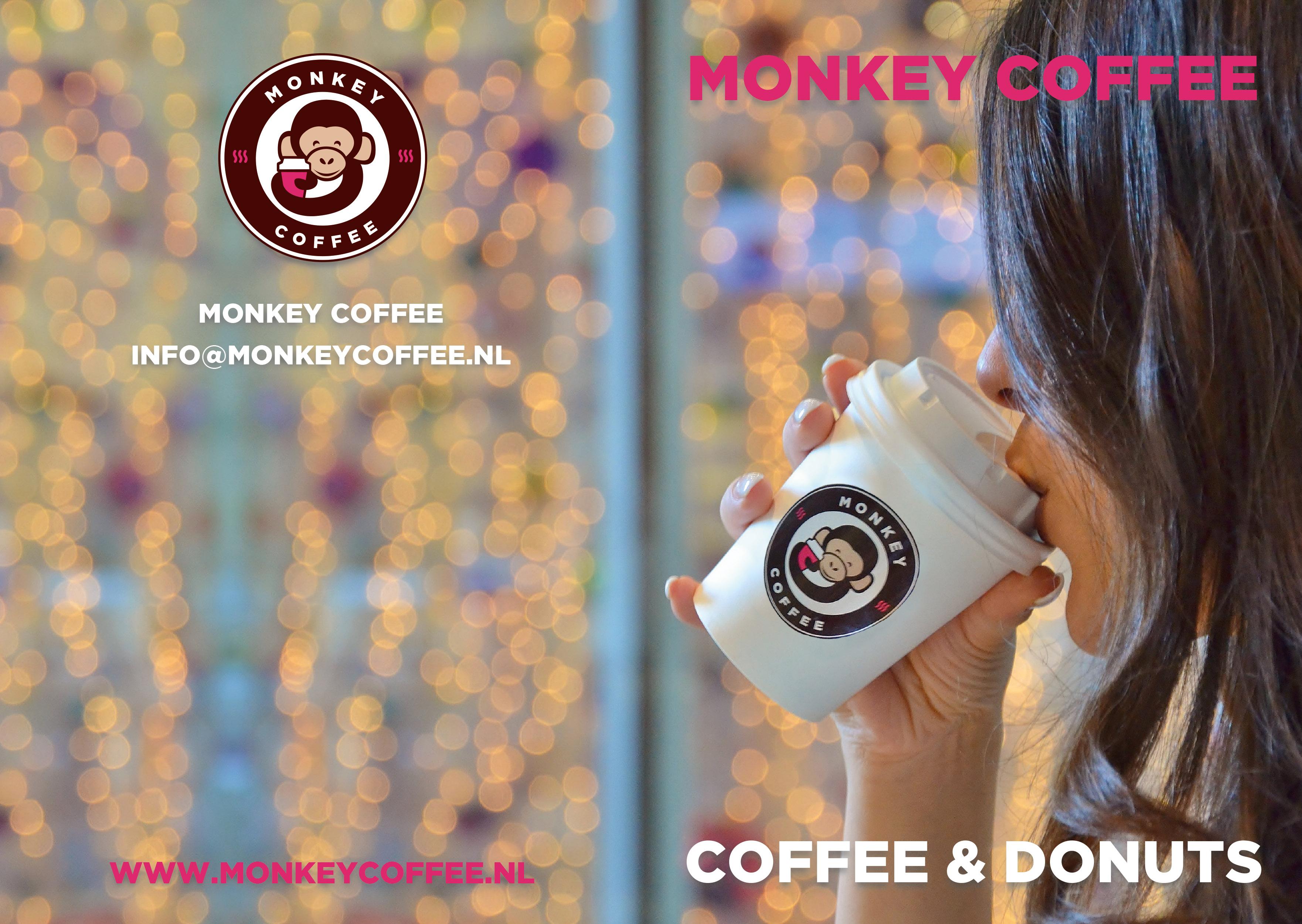 Monkey Coffee Menukaart voorkant